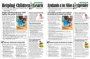 Helping Children Learn page