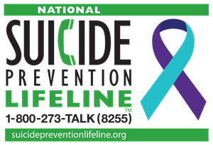 Suicide Prevention Hotline 1-800-273-TALK