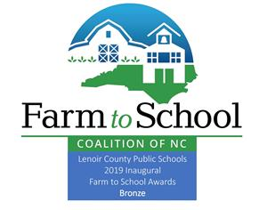 LCPS Farm to School award logo