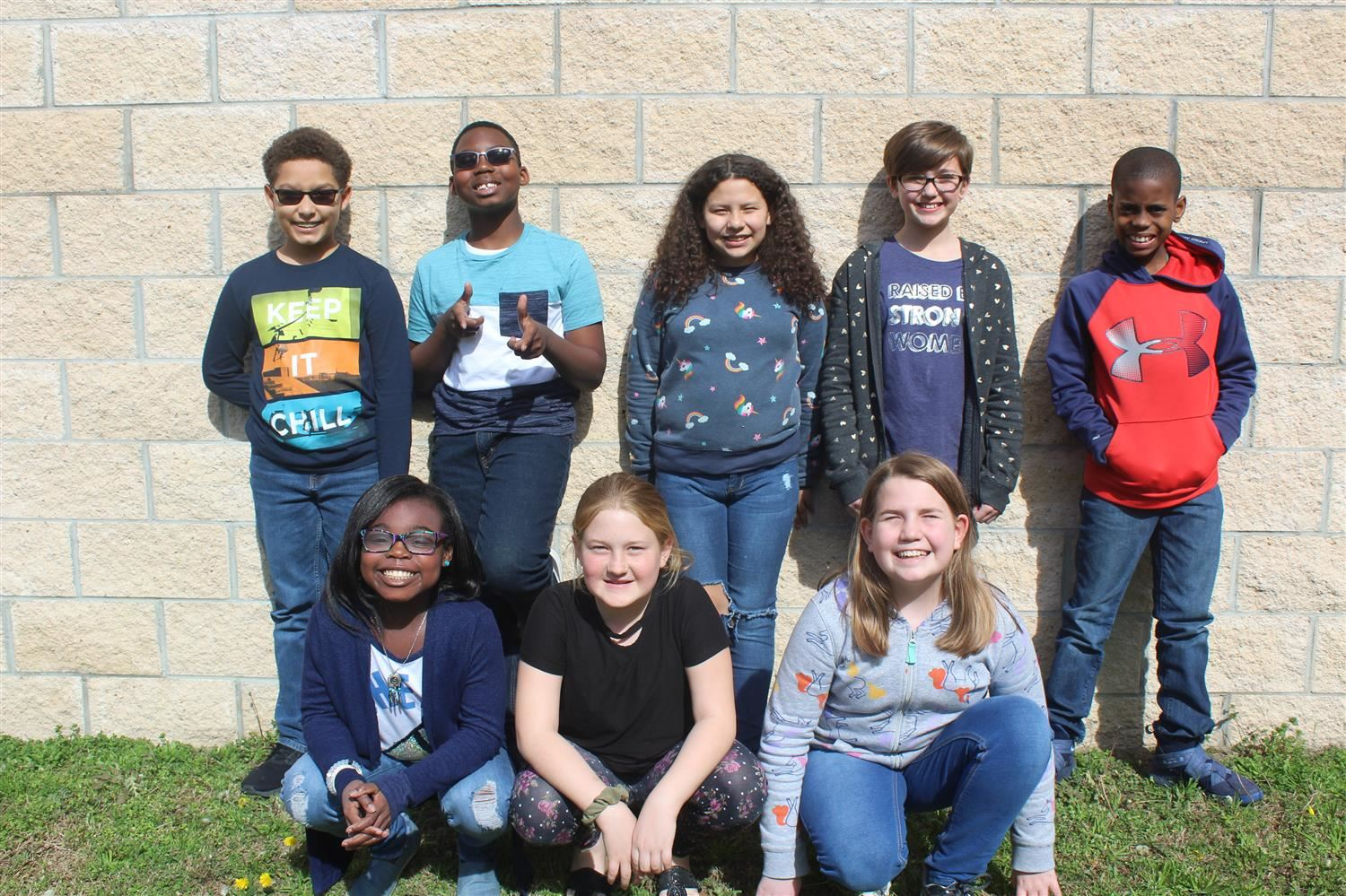 Members of the Elementary Battle of the Books