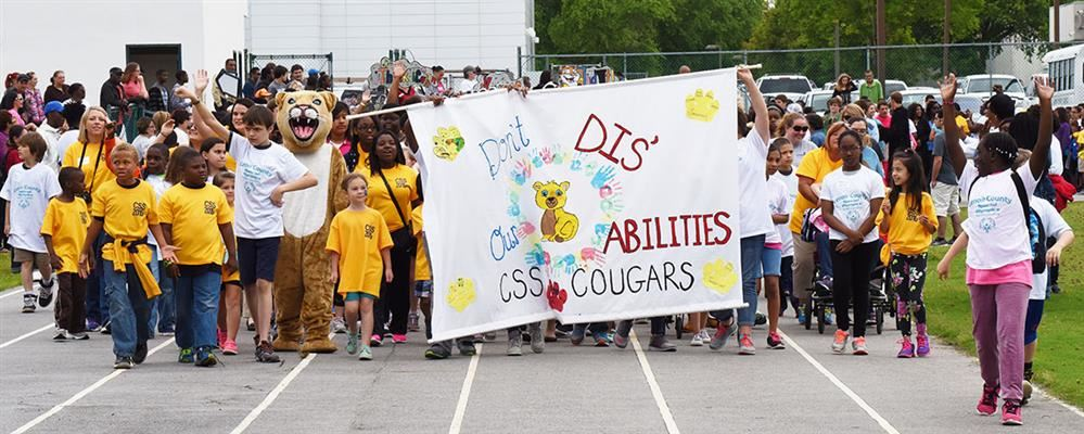 CSS on parade at Special Olympics